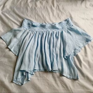 Kimchi Blue Off-the-shoulder Crop
